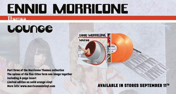 ENNIO MORRICONE: Themes: Lounge 2LP