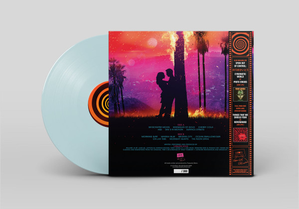 TURQUOISE MOON: The Sunset City (Turquoise Moon) LP