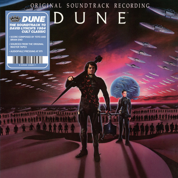 TOTO AND BRIAN ENO: Dune (Original Motion Picture Soundtrack (1984) LP