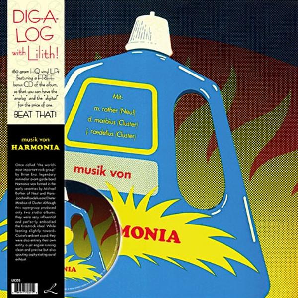 HARMONIA: Musik Von Harmonia LP+CD