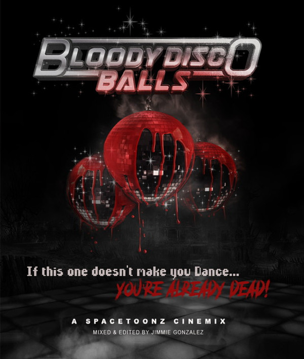 SPACETOONZ: Bloody Disco Balls (Limited Edition Lenticular Case) Blu-Ray