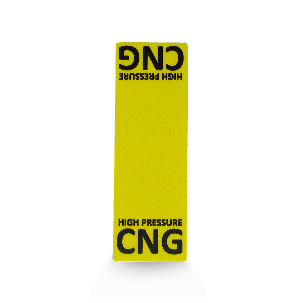 CNG High Pressure  Line Circuit - Decal
