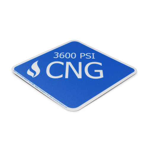 Large CNG Diamond Decal