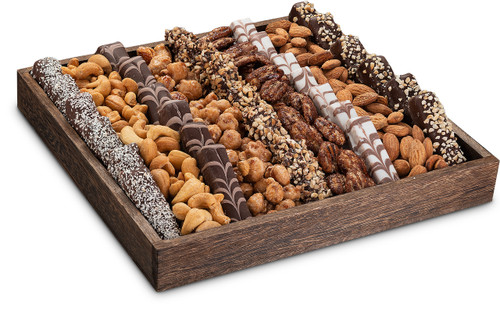 Chocolate Nut Deluxe Tray
