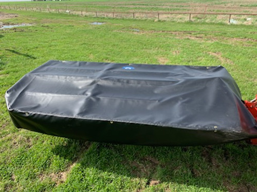 10 ft Replacement Disc Mower Canvas - Made in the USA! (Fits: Kuhn GMD800, JD 285)