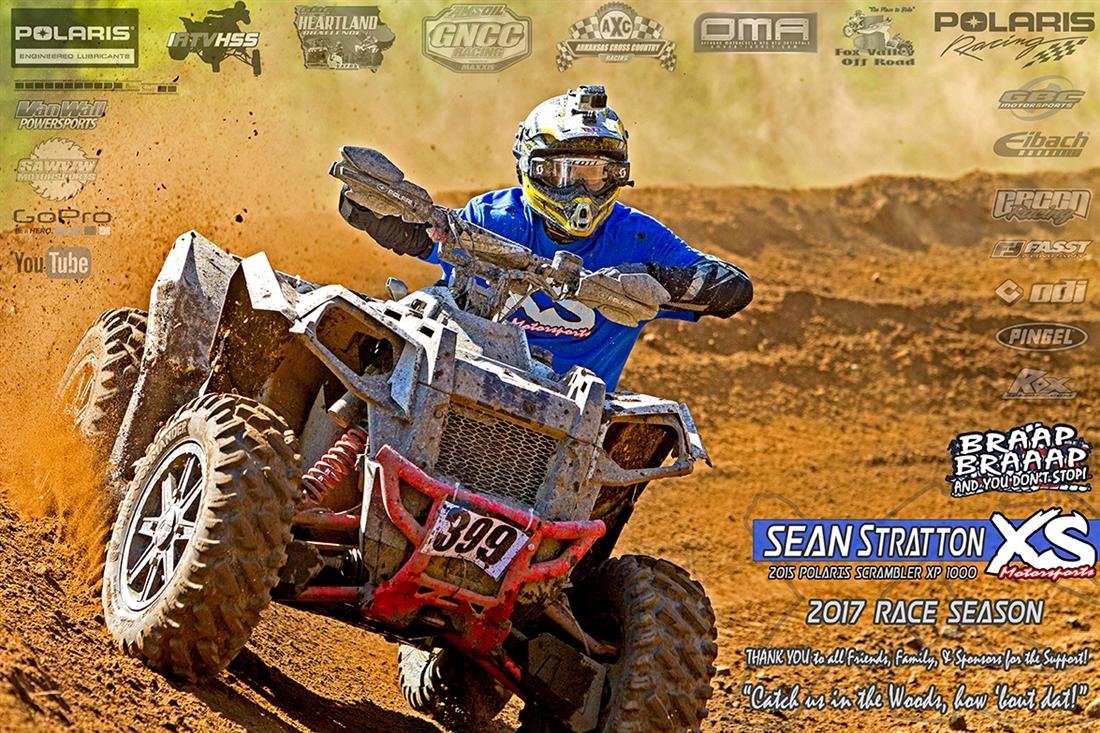 Sean Stratton 2017 4x4 ATV Racing