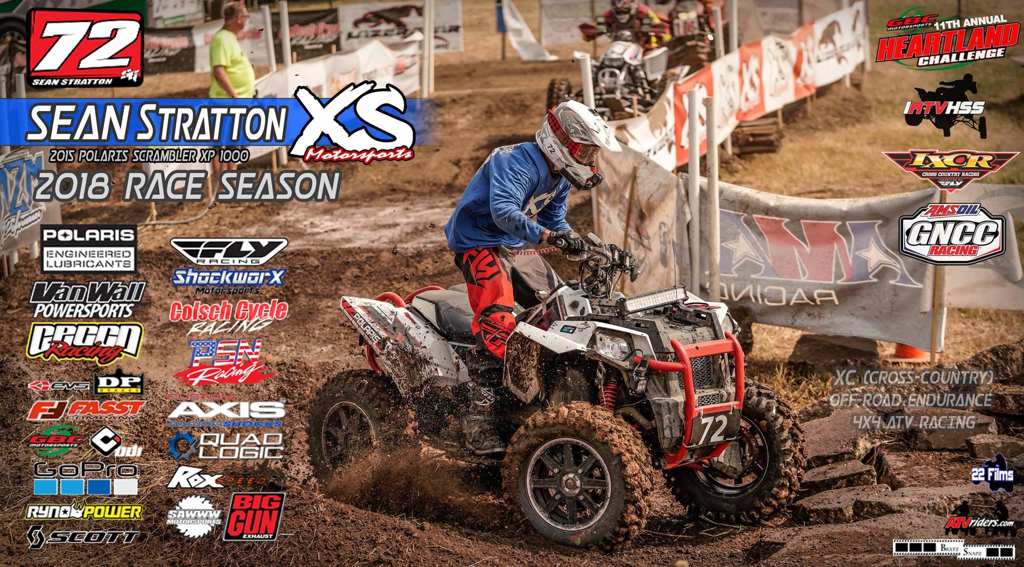 Sean Stratton 2018 4x4 ATV Racing