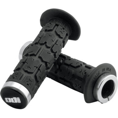 Moose Racing ODI ATV 7//8 120mm Lock On Handlebar Grips Black