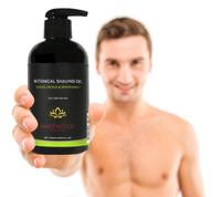 Men's Botanical Shaving Gel, Sandalwood & Peppermint, 8.0 oz