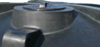 Water tank manhole access lid