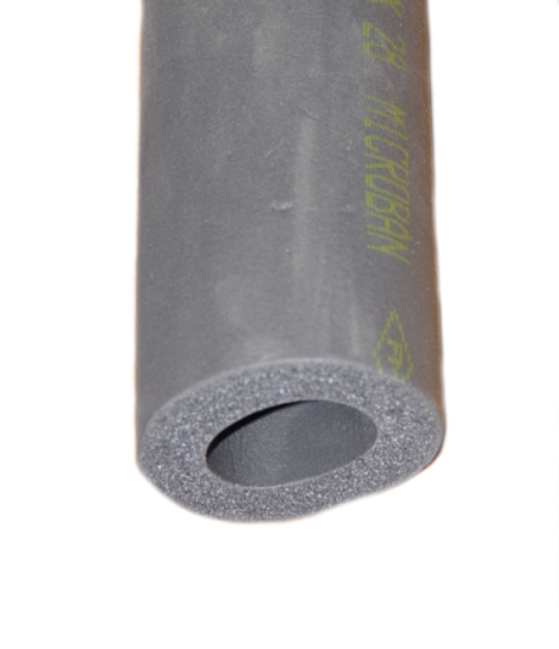 Black Armaflex Rubber Pipe Insulation Lagging 13mm wall thickness