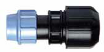 MDPE Compression Universal Transition Coupling