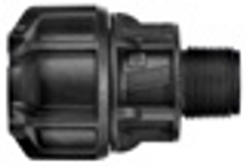 MDPE Philmac End Connector Poly x Male BSP 3G Metric/Imperial™ compression fitting