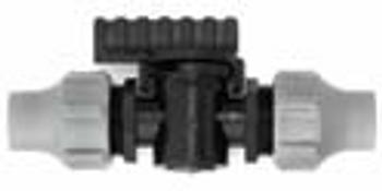 Nutlock Valve Fitting for LDPE Pipe