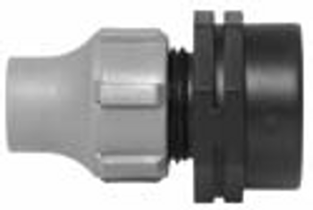 Nutlock x Female BSP Threaded Connector Fitting for LDPE Pipe