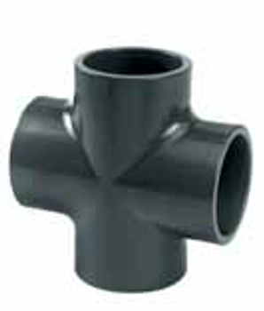 PVC Cross Glue Fitting