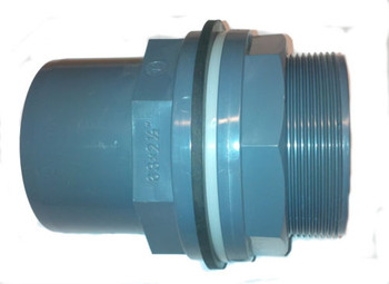 PVC Tank Connector Bulkhead Fitting
