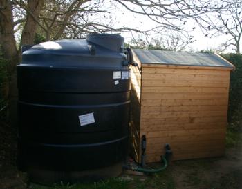 Water Storage Tank & Pump House
