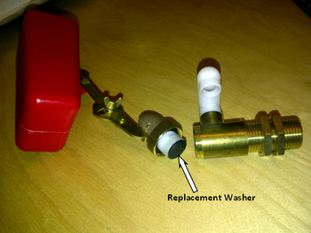 Washer for Brass Float Valve