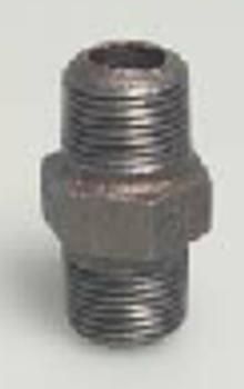 Black Iron steel Nipple
