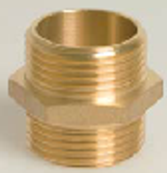 Brass Threaded Nipple