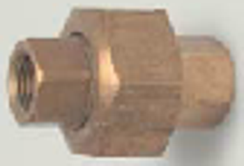Brass Threaded Union
