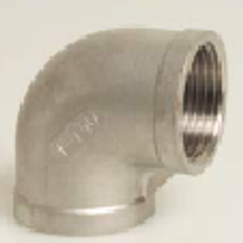 Stainless Steel Threaded Elbow 90°