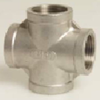 Stainless Steel 316 Threaded Cross