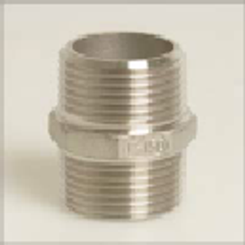 Stainless Steel 316 Threaded Nipple