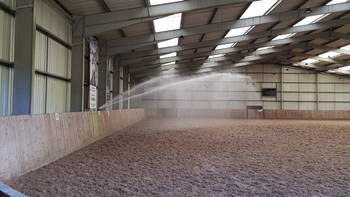 Indoor Riding Arena Irrigation Watering System