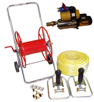 Pump & Two Sprinklers for 40mtr x 20mtr riding arena