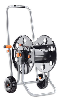 Claber Metal 60 8891 Portable Hose Trolley Cart