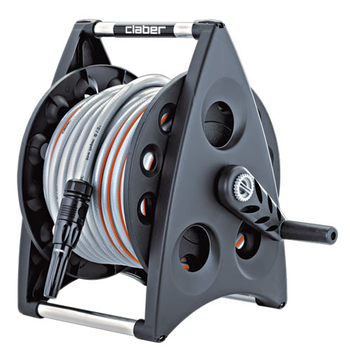 Claber Kiros 30 8945 Portable Hose Reel Kit with 30 metres hose