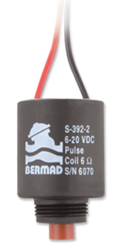 Bermad Latching Solenoid Coil 6-20 volt S-392-2W