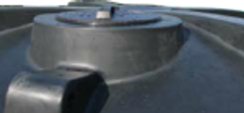 Water tank manhole access lid