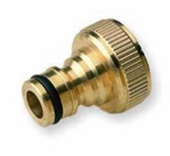 Hoselock type brass quick connector tap connector