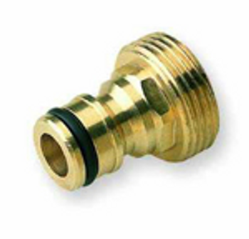 Hoselock type male brass quick connecter