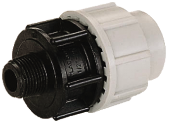 MDPE Plasson Coupler Male Adaptor Joiner compression fitting