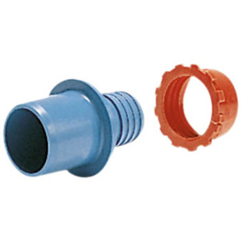 MDPE Plasson Adaptor Light Blue Joiner compression fitting