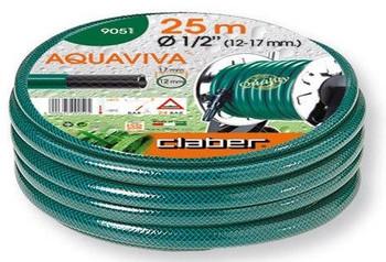 "Claber Green Aquaviva  1/2"" (12-17mm) 25meter coil"