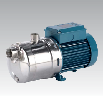 Calpeda MXHL AISI 316 Horizontal Multi-Stage Close Coupled Pumps