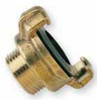 Geka Male BSP threaded fitting