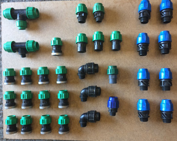 32mm Compression Fittings