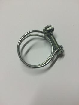 28-33mm double wire hose clips - NOT Jubilee