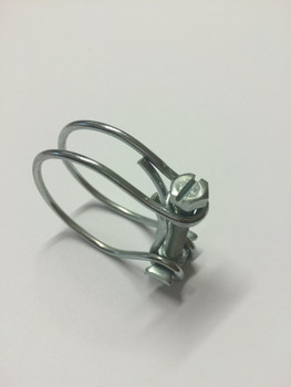 28-33mm double wire hose clips - NOT Jubilee
