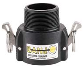 Banjo Camlock Male coupler