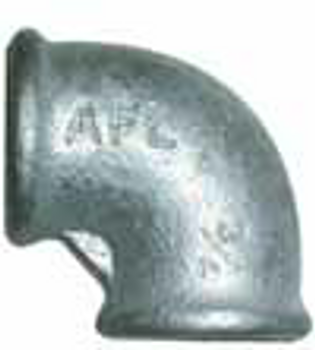 Galvanised Elbow 90°