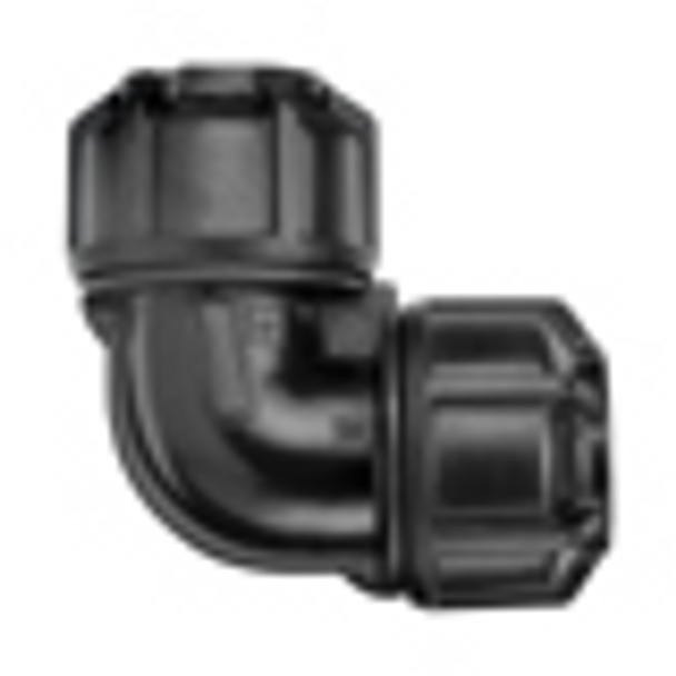 MDPE Philmac Elbow 3G Metric/Imperial™ compression fitting