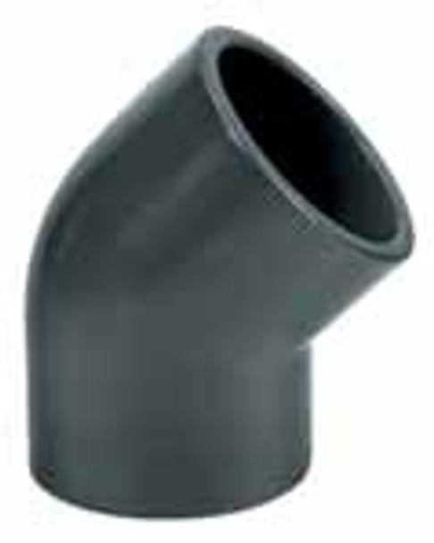PVC Elbow 45 Degree Bend
