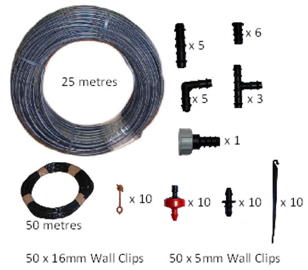 KIT0120 Small Patio Watering Kit